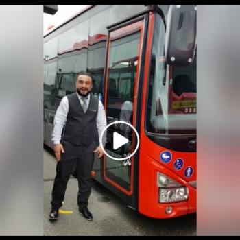 Hatem wordt buschauffeur